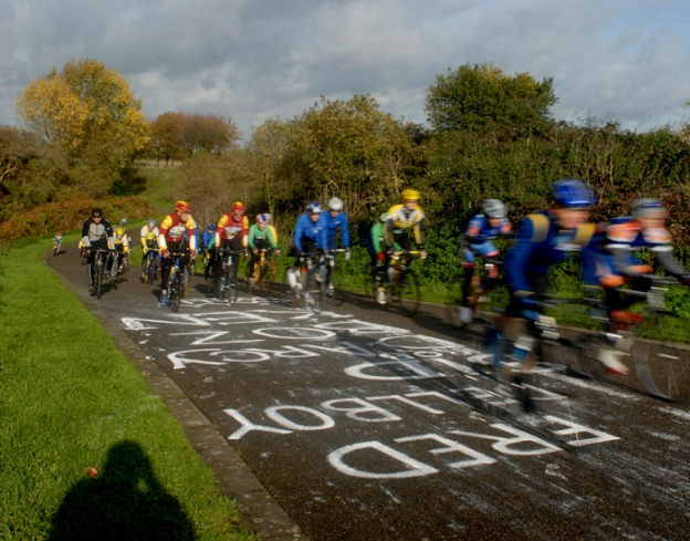 Eastway Cycle Circuit. The last 100 mile ride Nov 2006